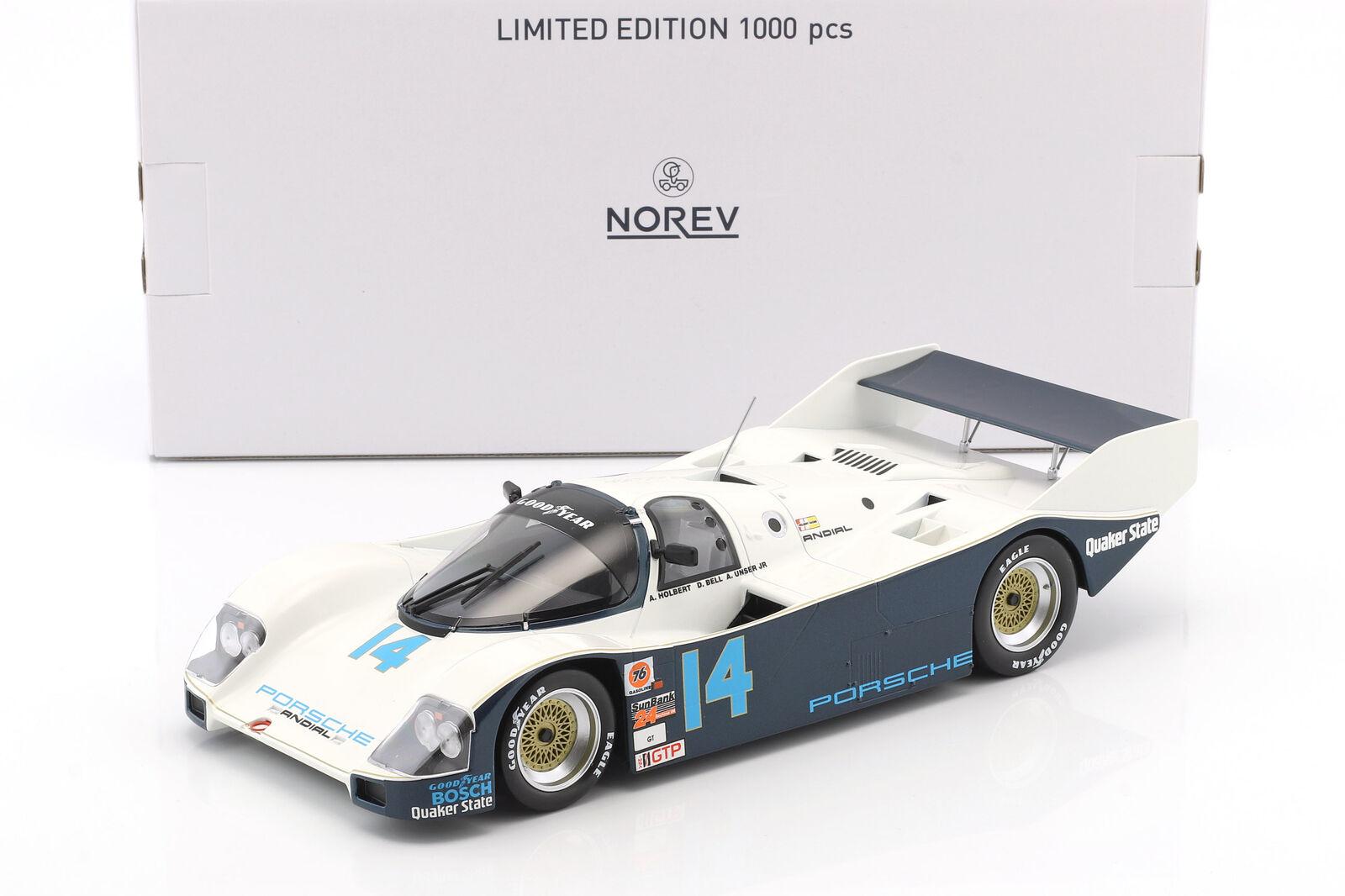 Porsche 962 C  14 WINNER 24 H DAYTONA 1986 Holbert, notre, Bell 1 18 Norev