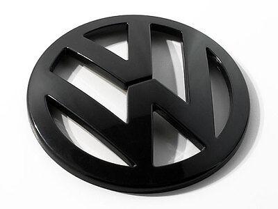 VW Jetta MK5 MK 5 V Matte Black Rear Trunk Euro Badge Emblem GLI TDI Cup Edition