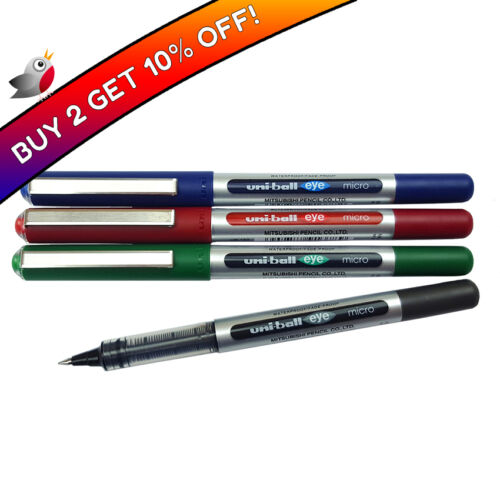 UniBall Eye Micro 0.5mm Tip Rollerball Pen UB150 Buy 2 Get 10% Off!