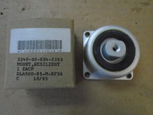 1 EA NOS SHOCK MOUNT USED ON VARIOUS AIRCRAFT P/N: MS91527-2AED