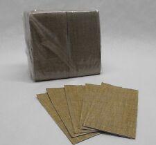 150 paper BURLAP DINNER NAPKIN 12x15 GUEST TOWEL 1/6 fold Banquet Bar