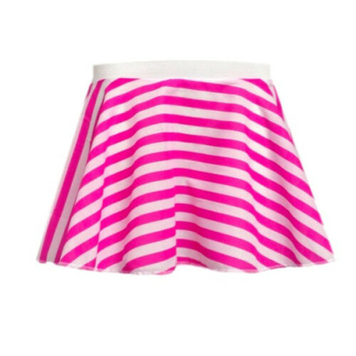 Femmes à rayures jupe munchkin candy stripe danse pantomime costume rock and roll