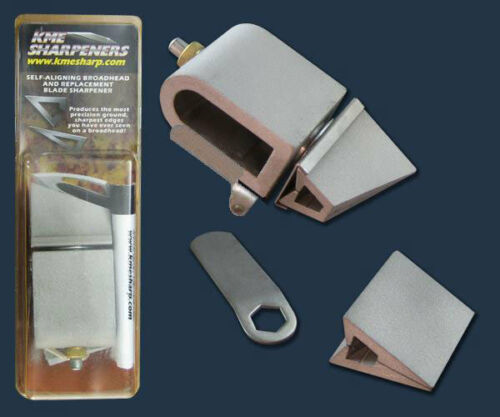 KME Self-Aligning Broadhead and Replacement Blade Sharpener