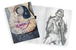 Hardback-Book-by-Zinsky-100-Sketches-of-the-Greatest-Music-Legends-of-our-Time
