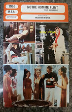 US Action Movie Our Man Flint James Coburn Lee J. Cobb French Film Trade Card
