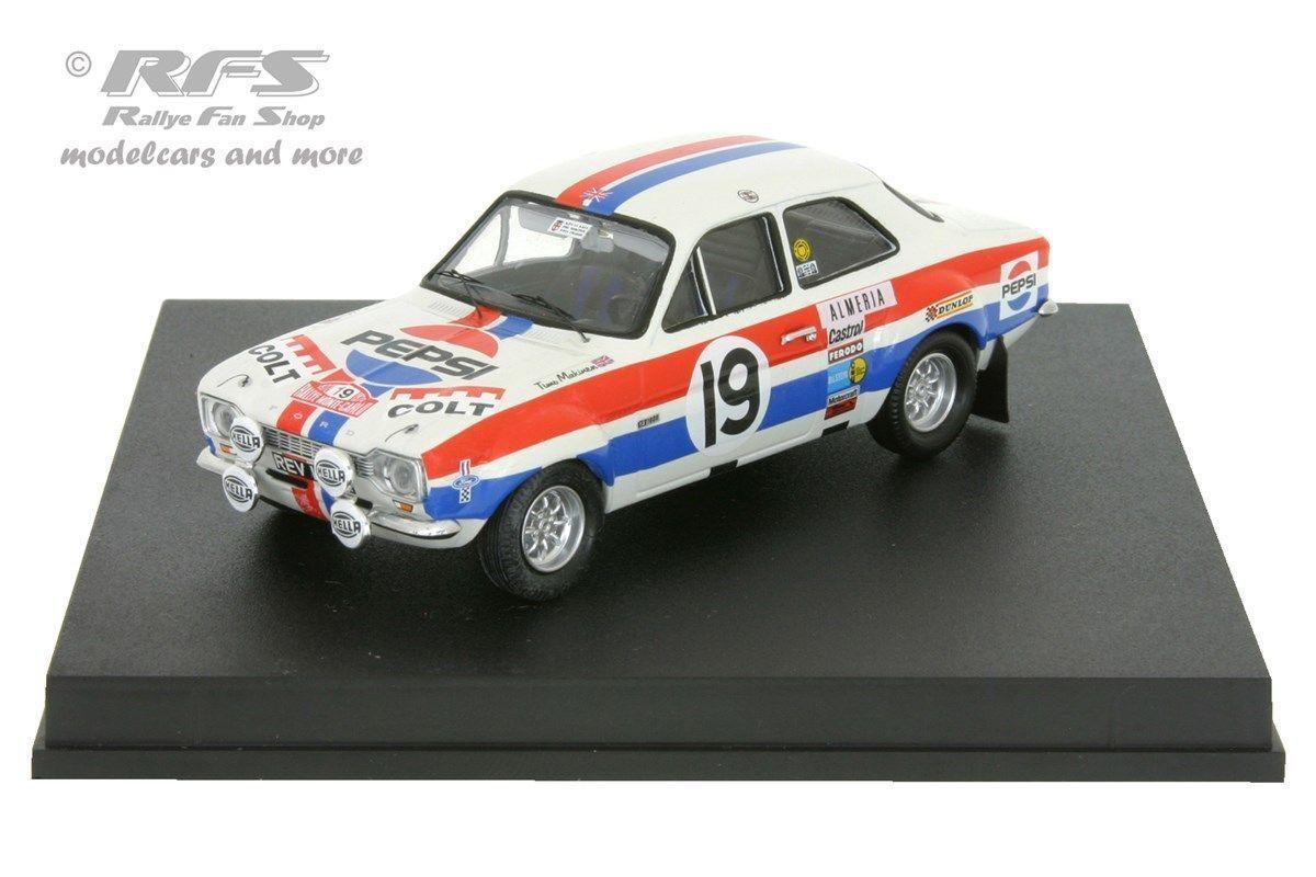 punto de venta Ford Escort RS 1600 Mk Mk Mk I-Rally de Monte Cochelo 1972-makinen - 1 43 Trofeu 0548  ventas directas de fábrica