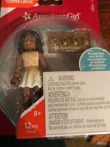 Mega Construx Mini Figure American Girl FDY94 Yellow Dress Doll