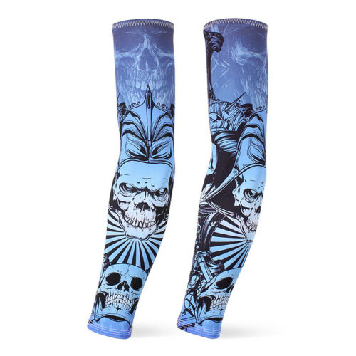 Arm Sleeves Protector Outdoor Sports Cycling Riding UV Protection Breathable New