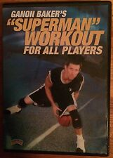 """Ganon Baker's """"Superman"""" Workout For All Players (DVD, 2004)"""