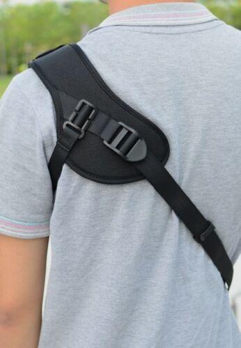 Focus F-1 Black Single Shoulder Sling Belt Strap DSLR SLR Camera Quick Rapid UK