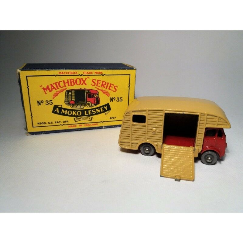 MATCHBOX N.35   ERF MARSHALL   HORSE BOX (ORIGINAL BOX 1957) SCALA 1 75