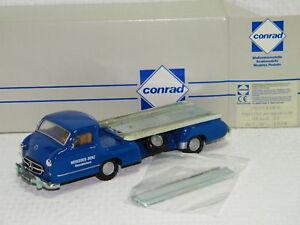 Conrad - Camion Mercedes Transporteur De Voiture 1955