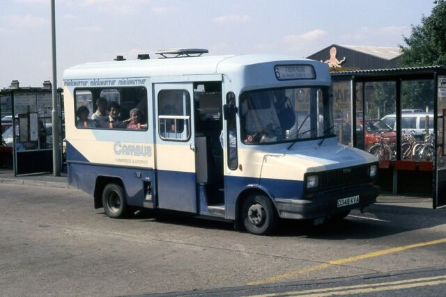 Cambus No.2048 Cambridge Station 1987 Bus Photo