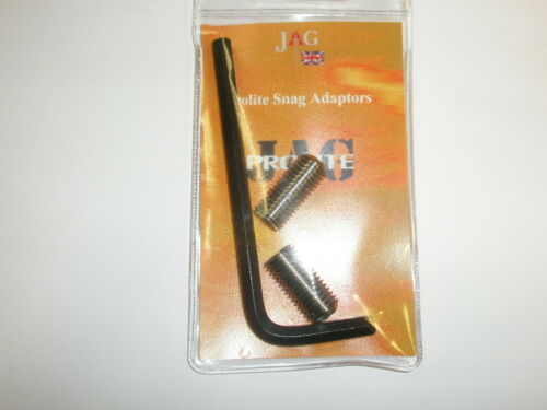 JAG tel Snag Convertors Adaptateurs 2pk Fishing Tackle