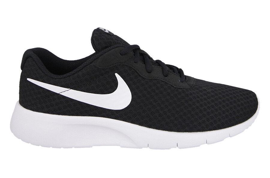 Nouveau Nike Homme tanjun Running Baskets Chaussures Léger-Noir/Blanc