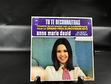 VINYLE 45 TOURS ANNE MARIE DAVID TU TE RECONNAITRAS 1973