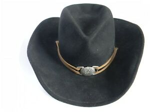 0c310eab56fa9 Master Hatters of Texas MHT Westerns Black 100% Wool Hat Size M