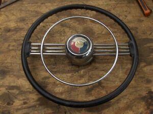 vintage buick 1953 53 steering wheel banjo hotrod rat rod ...