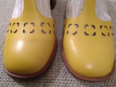 Clarks Orla Kiely orla Bibi Yellow