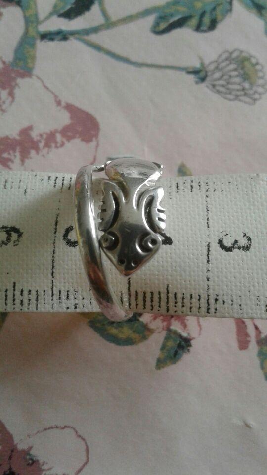 Ring, sølv, .
