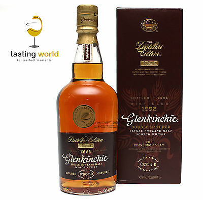 RARITÄT Glenkinchie 1992-2006 Distillers Edition G/280-7-D / 700ml / 43%
