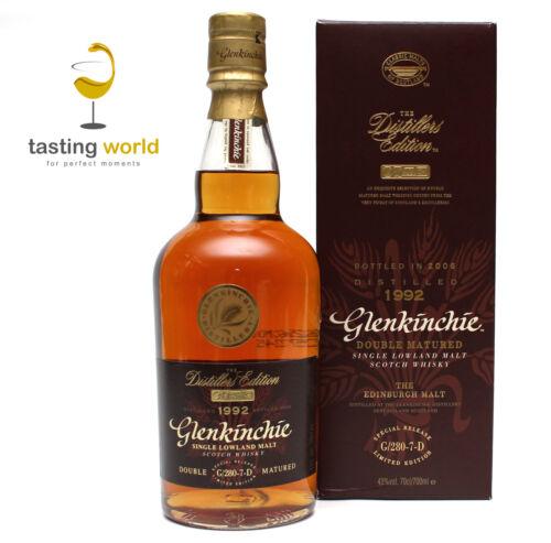 RARITÄT Glenkinchie 1992-2006 Distillers Edition G/280-7-D / 700ml / 43%