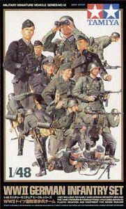 TAMIYA-1-48-II-Guerra-Mundial-Infanteria-Alemana-Set-32512