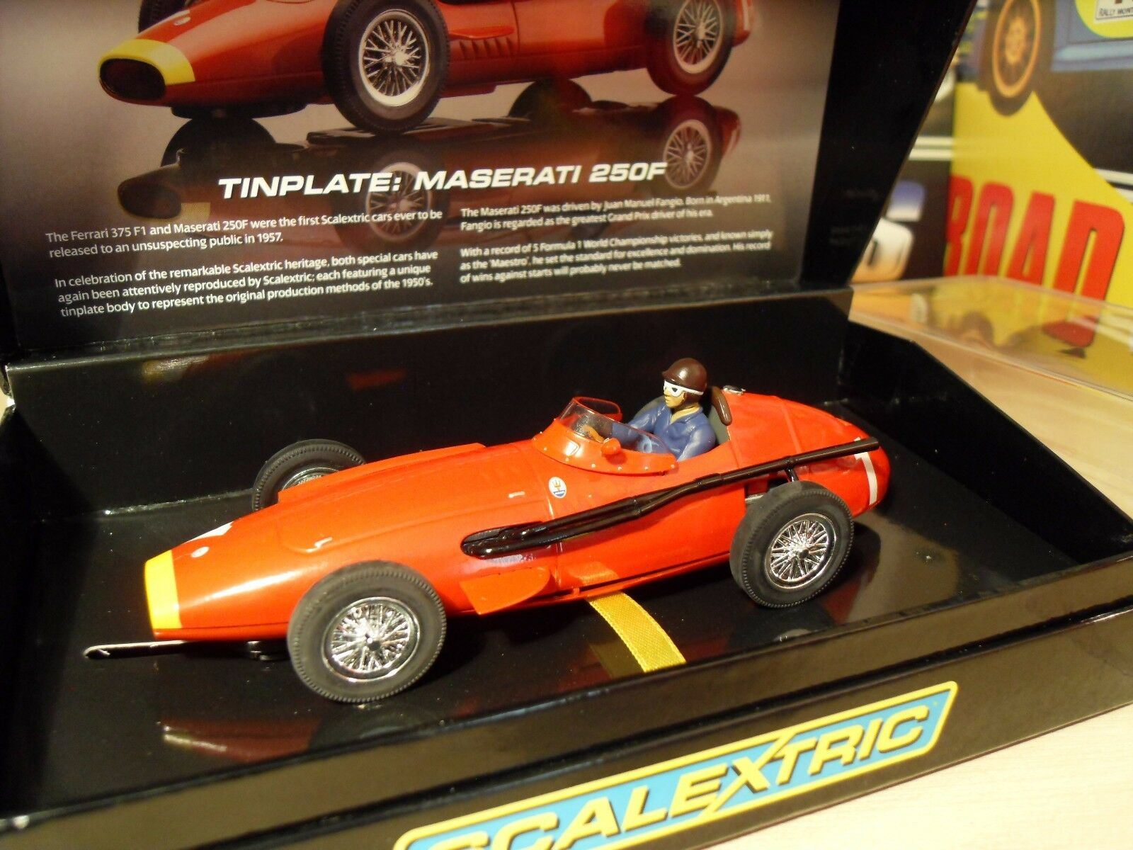 Scalextric Sport C2929a - Maserati 250F 'Tin Plate' - Brand New in Box.