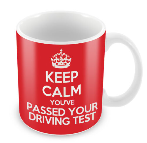 KEEP CALM You/'ve Passed your Driving Test Coffee Cup Gift Idea present novelty