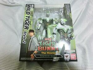 S-H-Figuarts-Tiger-amp-Bunny-WILD-TIGER-Style-2-Action-Figure-BANDAI-japan