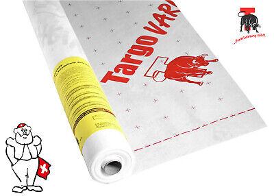 Vorsichtig Targo Varivap N Variable Hochleistungsdampfbremse 75 M2 Dampfsperren Baustoffe & Holz