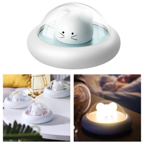 Cute Mouse Kids Touch Control Night Light Baby Nursery Lamp Rechargeable