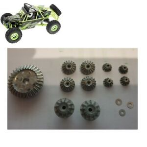 Ersatzteil-fuer-Dune-Buggy-Across-WL-Toys-12428-Differential-Zahnrad-Set-Metall