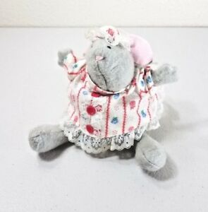 1986-Hallmark-MAMA-MOUSE-Beanbag-Plush-Ornament-7-034