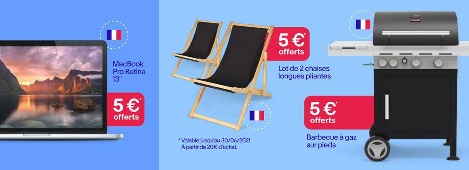 Code PARTENAIREPME21 - 5 € offerts chez nos vendeurs français *
