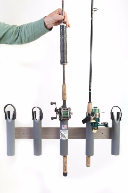 Fishing Rod Pole Rack Rest Holders 5 Rods RV Truck by T-Rex Tough Boat