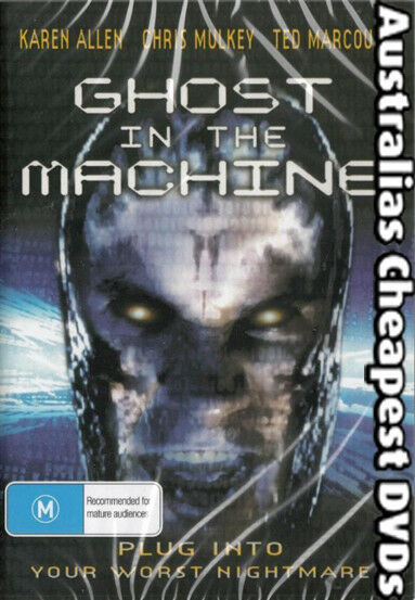 Ghost In The Machine DVD NEW, FREE POSTAGE WITHIN AUSTRALIA REGION 4