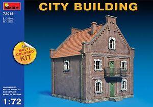 "MiniArt #72019, 1/72 ""City Building"""
