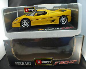 Bburago-cod-3382-Ferrari-F50-Hard-Top-1995-1-18-boxed-boite-MIB
