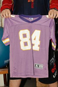 online store 6d096 38fbe Details about RANDY MOSS ROOKIE MINNESOTA VIKINGS STARTER BRAND JERSEY NFL  ESPN HALL OF FAME