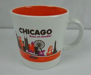 Dunkin' Donuts Chicago Runs on Dunkin' 2012 Coffee Mug made in USA