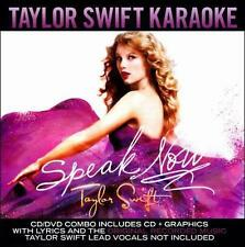 Speak Now by Taylor Swift karaoke edition