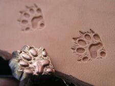 011-08 Ferret track paw Leather Saddlery Tool Punch 3D Brass Custom stamp