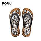 funny grey footprint Women's Thongs/Slim Flip Flops Shoes size 35 - 40 Brand New