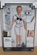 1999 Edición Especial See's Candies un feliz hábito Barbie