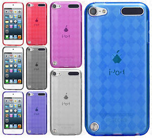 For iPod Touch 6 6th Gen TPU CANDY Gel Flexi Skin Case Cover Screen Protector