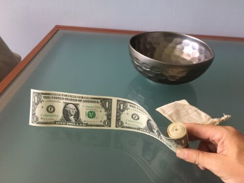 US Currency Roll of 30 x $1 Bill Dollar Federal Reserve Notes 2017--Rare