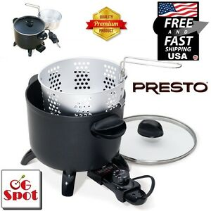 Electric Kitchen Kettle Multi-Cooker/Steamer Deep Fryer