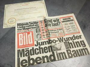 Details Zu Bildzeitung 14081985 August 1481985 Geschenk 34 35 36 37 38 Geburtstag