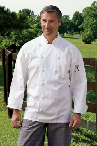 Black or White XS to 2XL 0425C Uncommon Threads Executive Chef Coat